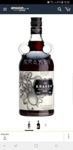 Kraken Black Spiced Rum, 70 cl @ Amazon - £17.90 Prime / £22.39 non-Prime