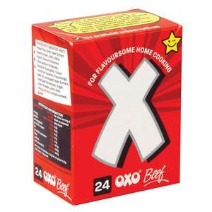 24pk Beef Oxo Cubes for £1.39 at Poundstretcher
