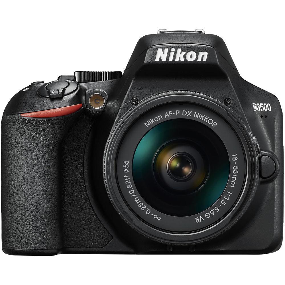 Nikon D3500 Kit AF-P DX 18-55mm f/3.5-5.6G VR Lens Digital SLR Camera - Black £294 (Delivered) @ eGlobal Central UK