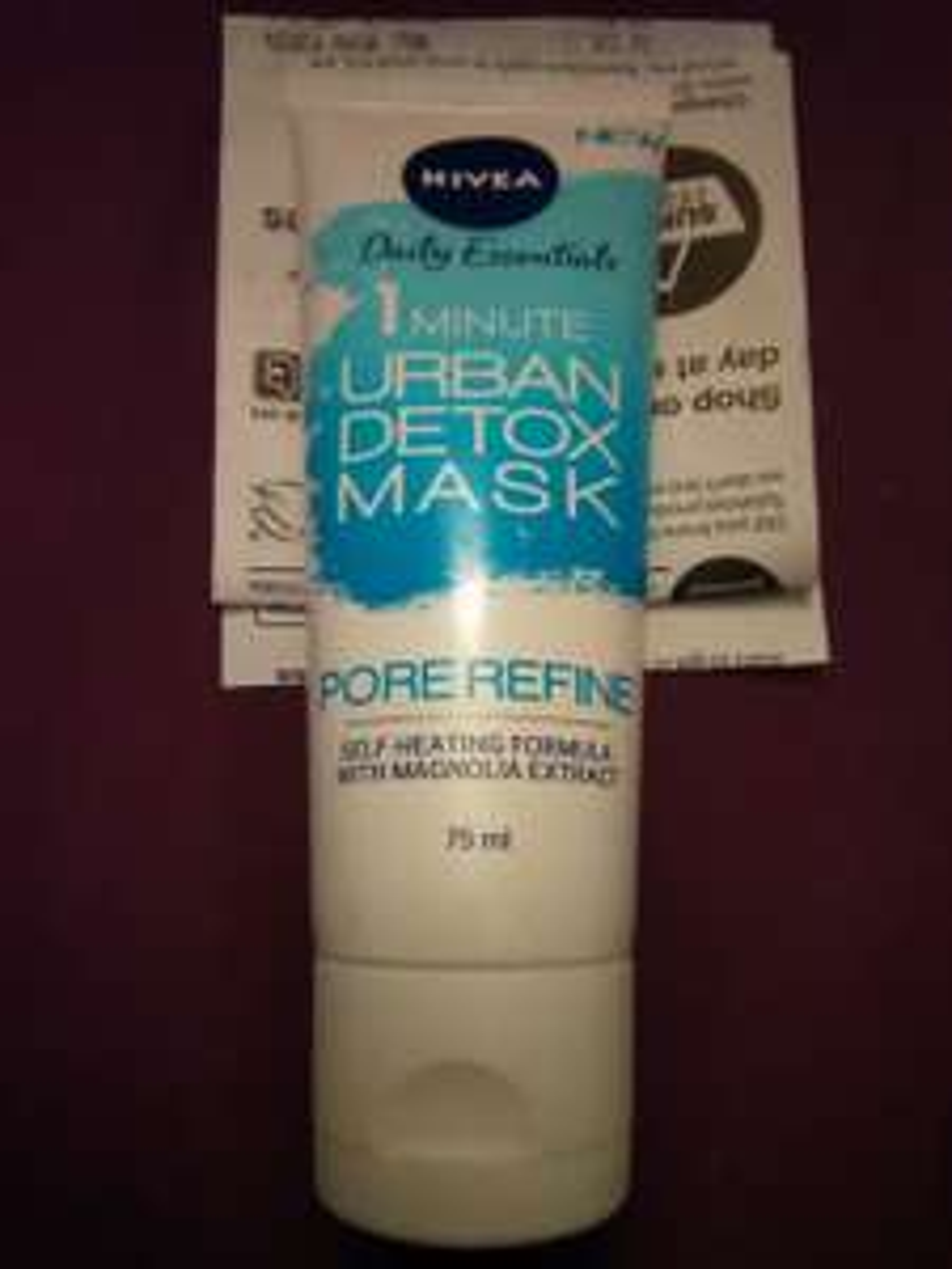 Nivea 1 minute urban detox pore refine mask and other varieties 70p in Superdrug