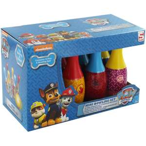 Paw Patrol :  Mini Bowling Set rrp £7.99 now £4 , with code £3 @ The Works C&C