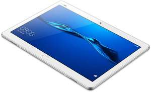 "Huawei MediaPad M3 Lite LTE/4G Tablet, 10,1"", Octa-Core, 3 GB RAM, 32 GB, Android 7.0, White - £185 @ Amazon.de"