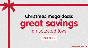 Up to 50% off toys plus £10 off when you spend £50 - ELC