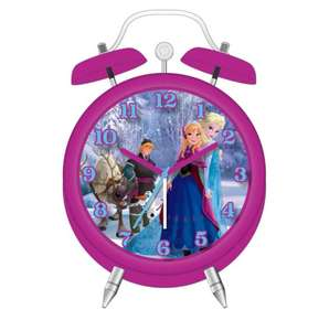 Frozen Mini Alarm Clock - £4.80 (with code) @ Watch Shop (free C&C)