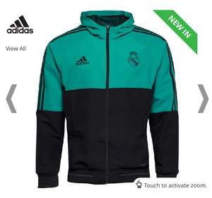 adidas Mens RMCF Real Madrid Presentation Jacket now £19.99 other RMCF items p&p £4.99 or Free with Premier