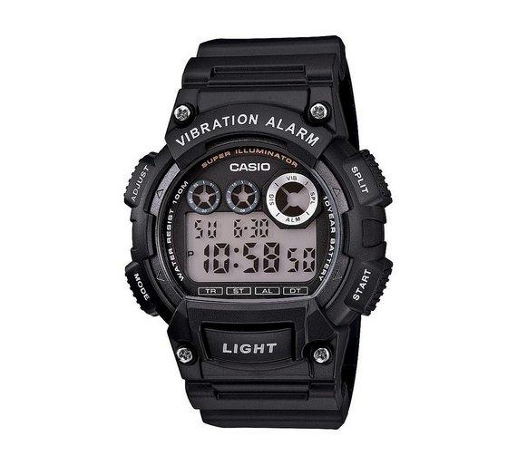 Casio Men's Vibration Alarm Watch  + 2 Years Guarantee  £19.99 @ Argos
