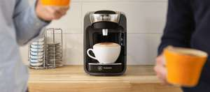 Glitch - Tassimo - First £10 off code for drinks via Coffee Machine registration can be used again