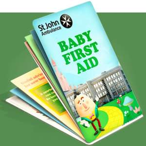 Free pocket sized St John's Ambulance baby first aid guide