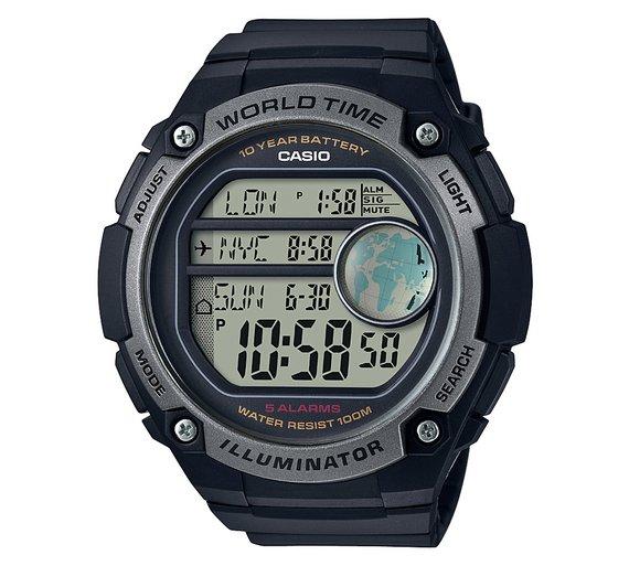 *Half Price* Casio Men's World Time Digital Watch £21.99 @ Argos