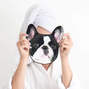 Reduced Price Dog Face Flannels Now £7.99 from £11.99 @ Firebox Great stocking Filler or secret Santa 7% quidco