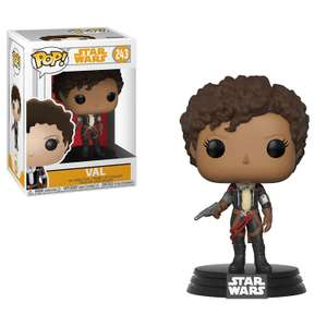 Funko Pop Star Wars: Solo A Star Wars Story - Val now £3.96  @ Amazon Add On Item