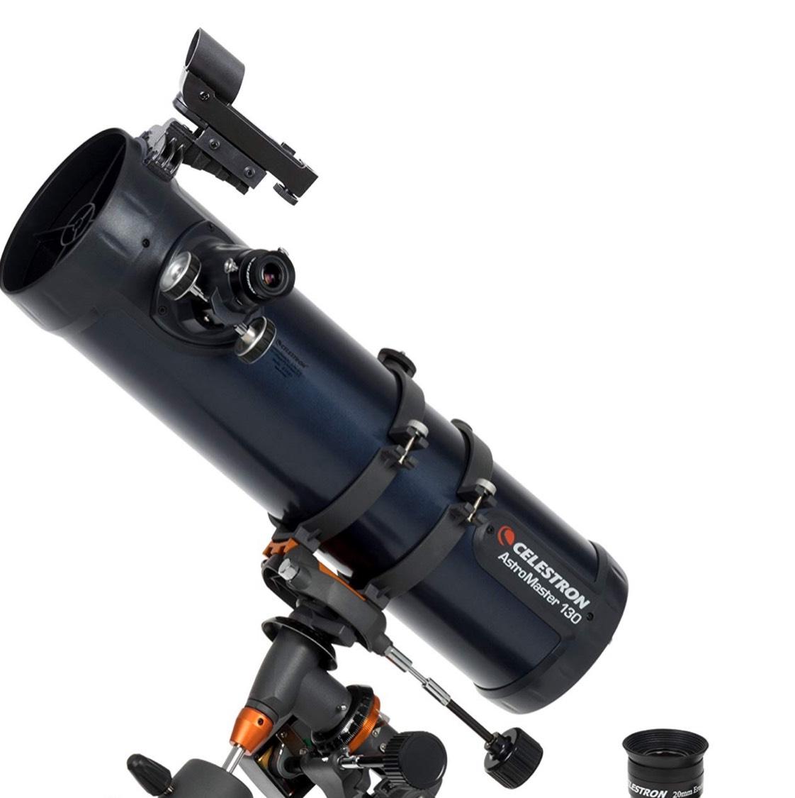 Celestron 31051 AstroMaster 130EQ Reflector Telescope Motor Drive - £165.99 @ Amazon