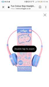 Smiggle headphones 50% off - £11