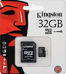 Kingston 32GB Micro SDHC Memory Card - £5.42 @ Amazon / Dispatched from and sold by UkMobileAccessories.