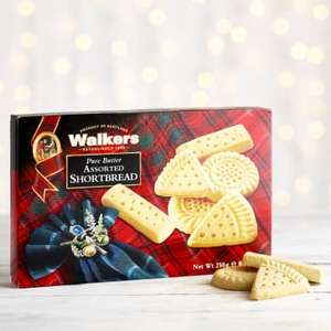 Walkers Assorted Shortbread, 250g - £2.35 @ Milk&More
