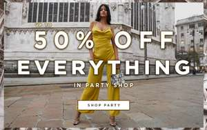 Up to 50% off Everything at Public Desire