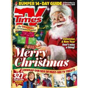 Six issues of TV Times for £1 - 6 issue subscription