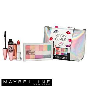 maybeline glow goals make up and cosmetic bag - £7.99 @ Home Bargains