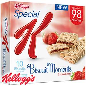 Special K Biscuit Moments: Strawberry (6 x 5 Packs) - £5.94 @ Home Bargains