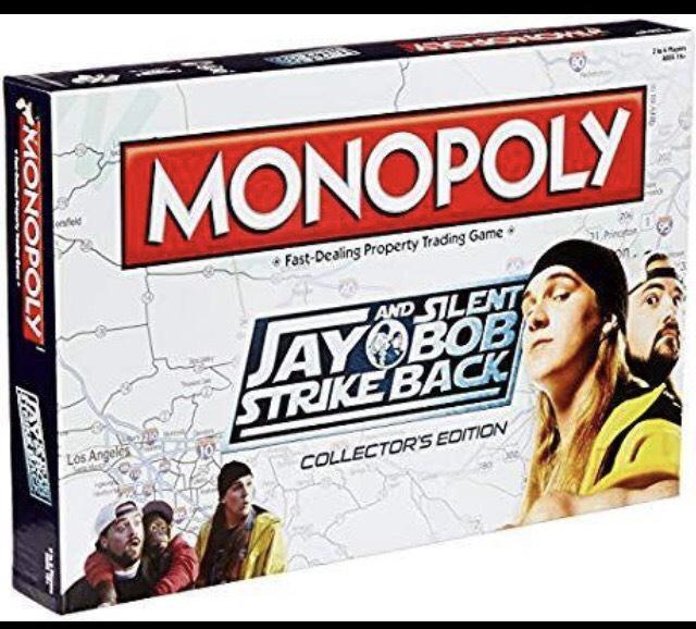 Jay and Silent Bob Strike Back Monopoly Game £11.97 delivered @ Groupon