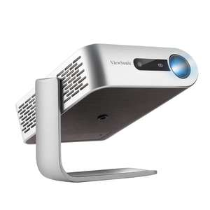 ViewSonic M1 WVGA Ultra-Portable Projector with Dual Harman Kardon Speakers, Silver for £219.99 Delivered @ amazon UK