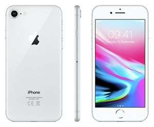 Apple iPhone 8 256GB Mobile Phone in Silver A-grade Refurbished with 12 Months Warranty £458.99 Argos on eBay