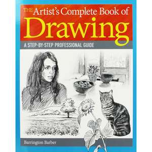Artists Complete Book of Drawing  RRP  £14.99  Only £3.20 w/code @ The Works