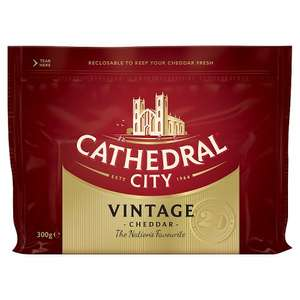Cathedral City Vintage Cheese 300g £1.89 Iceland  (=£6.30 per 1 kg)