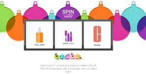 Clinique Spin is back! 20% OFF / Full Size / Gift Sets (Min. £25 Spend)