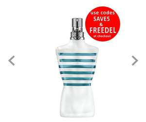 Jean Paul Gaultier Le Beau Male 40ml @ BeautyBase £21.50 was £37.50 use code SAVE5 to reduce the price to £21.50  FREEDEL for free delivery