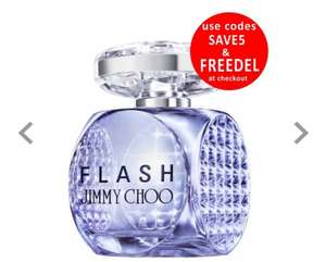 Jimmy Choo Flash 60ml @ Beauty Base now £24.95 was £60 use code SAVE5 to reduce the price to £24.95 and FREEDEL for free delivery