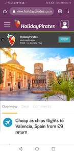 Cheap as chips flights to Valencia, Spain From £9 return at opodo.co.uk