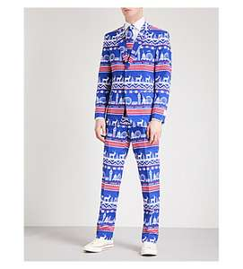 Men's Christmas Suit Only £10 Selfridges - Free click and collect or £5 delivery