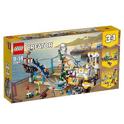 LEGO 31084 CREATOR Pirate Rollercoaster Toy £48.73 @ Asda