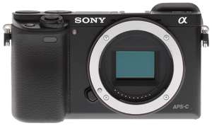 Sony A6000 (body only) camera £349 (£249 after Sony cashback) @ Amazon
