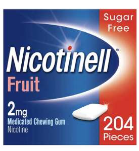 Thinking of quitting smoking? This might help - Nicotinell Stop Smoking Aid Nicotine Gum 2 mg Fruit £13.49 @ Amazon Prime (+£4.49 non-Prime)