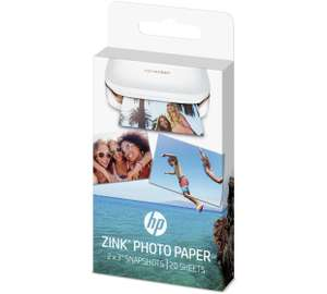 HP Sprocket Zink Photo Paper - 20 Sheets £9.99 Argos (3 for 2)