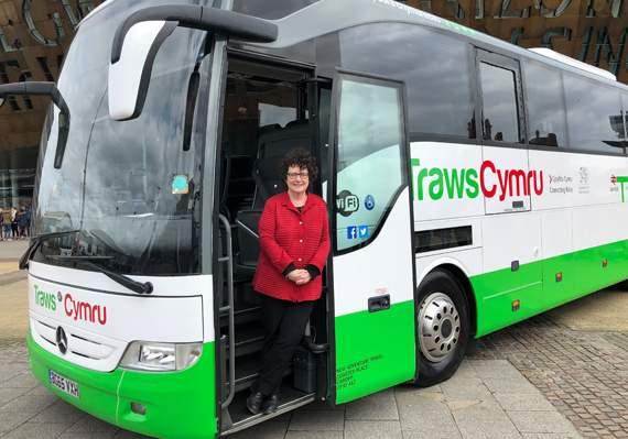 free weekend bus travel in wales