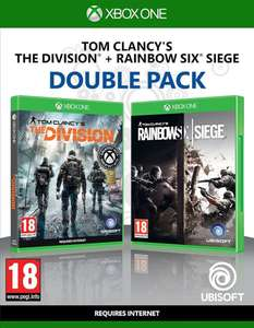 Tom Clancy's The Division + Rainbow Six Siege Double Pack- Xbox One/PS4 £18.99 delivered @Zavvi