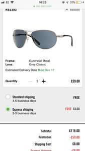547328a065 Dsquared Sunglasses – £49.99   TK Maxx – plus £3.99 P P - TK Maxx ...