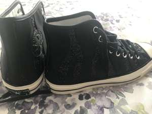 Converse outlet at McCarthur Glen Derbyshire have 30% off all of the converse  - Black & Sparkle High Top  £20.99 instore