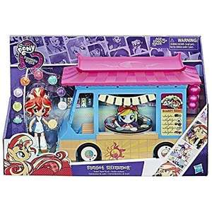 My Little Pony Equestria Girls Rollin' Sushi Truck Playset - £11.33 (Prime) £15.82 (Non Prime) @ Amazon
