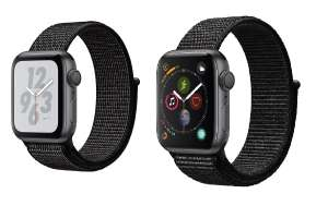 Apple Watch S4 Nike+ 40mm £349, 44mm £379 12 months BNPL || Apple Watch S4 Space Grey 40mm £349, 44mm £379 || iPad Mini 128GB £249.99 @ Very