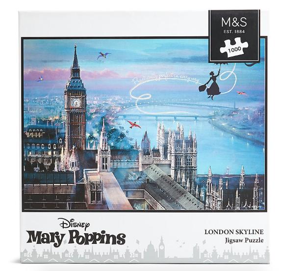 Mary Poppins 1000 Piece Jigsaw Puzzle £8.40 M&S - free c&c