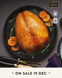 Fresh Bronze Turkey Crown £11.99 KILO @ Aldi  on sale 19/12/18