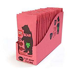 Bear Fruit Yoyo Strawberry 18 x 20g = 35% OFF - £7.20 (Prime) £11.69 (Non Prime) @ Sold by Groceries R US and Fulfilled by Amazon