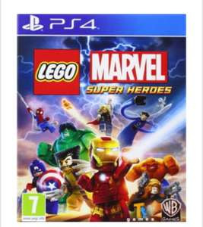 LEGO Marvel SuperHeroes (PS4) £11.99 delivered @ base
