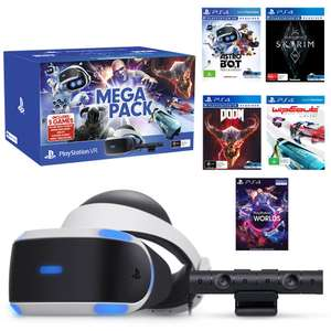 Sony Playstation VR Mega Pack Bundle + Move controllers @ Argos - £279.99