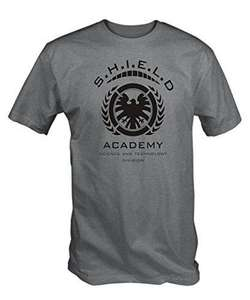 Shield Academy T Shirt - Lightning Deal - £6.36 (Prime) £10.85 (Non Prime) @ Sold by 6 TEE NINERS and Fulfilled by Amazon.