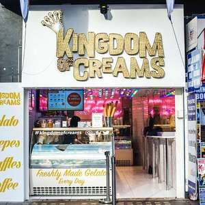 Free Ice Creams TODAY ONLY at Kingdom of Creams Leicester Square